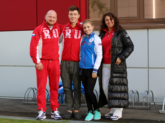 Evgeni Rukavitsin, Alisa Fedichkina, Dmirti Aliev